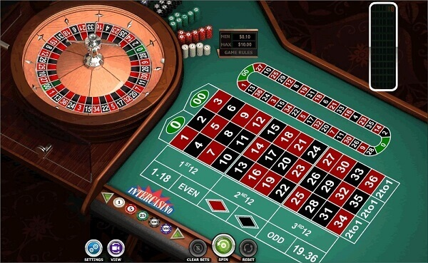 Game Roulette trực tuyến