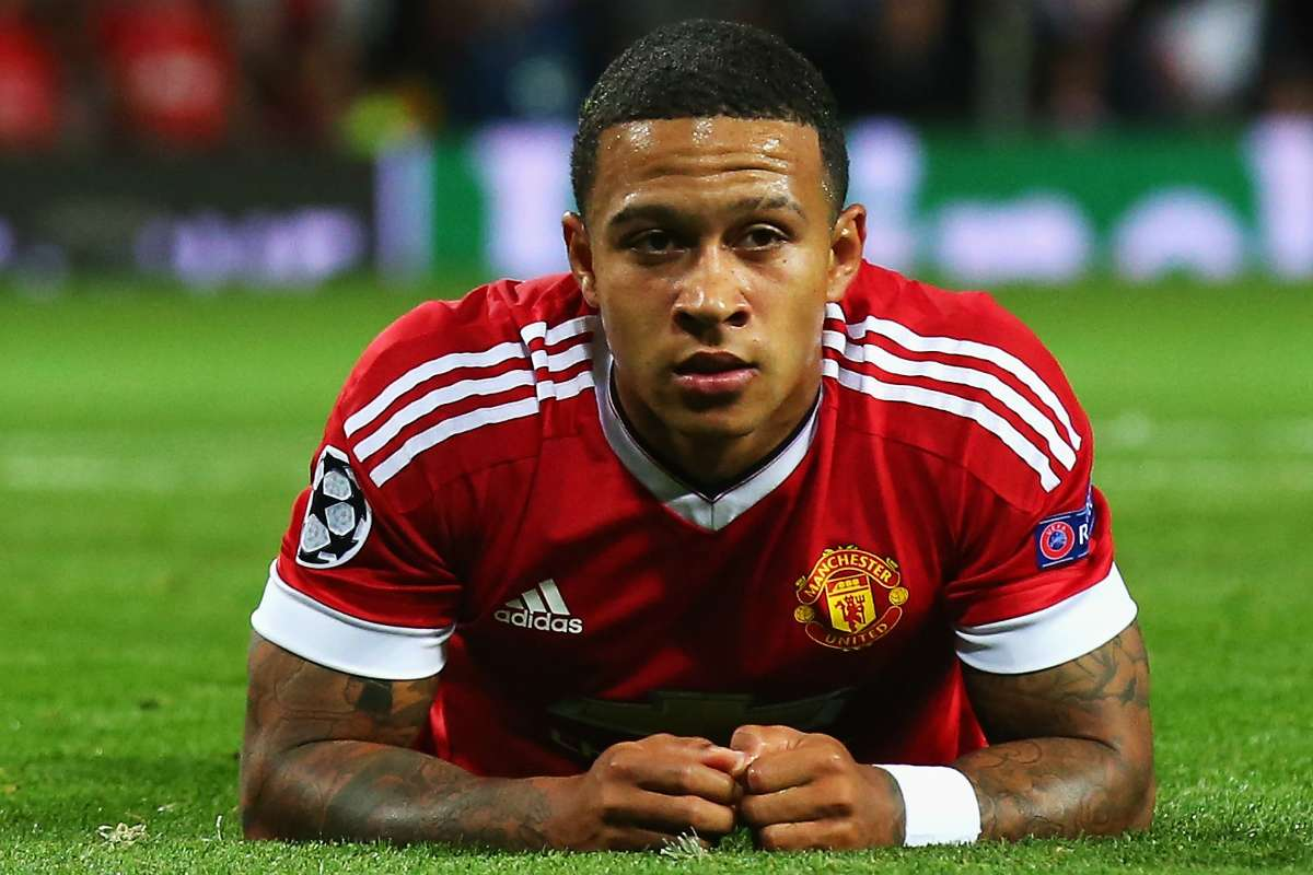 Depay ở Manchester United