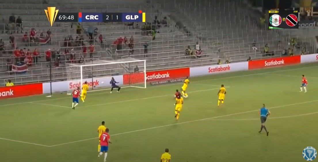 Costa Rica vs Guedeloupe